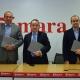 José Manuel Fernández Archilla, Antonio Alonso y Borja Alonso