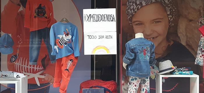 comercio ropa durante coronavirus